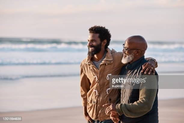 you're never too old to need your dad - affectionate stock pictures, royalty-free photos & images