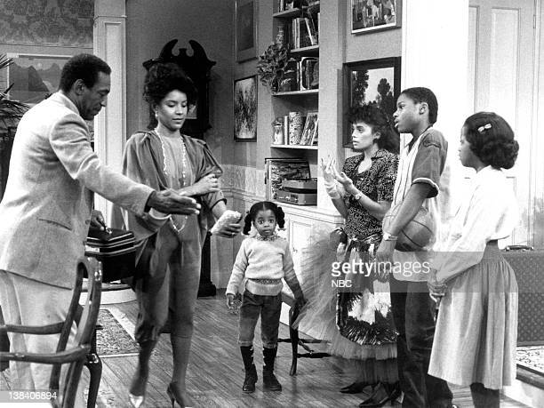 SHOW You're Not a Mother Night Episode 11 Air Date 12/6/1984 Pictured Bill Cosby as Doctor Heathcliff 'Cliff' Huxtable Phylicia Rashad as Clair Hanks...