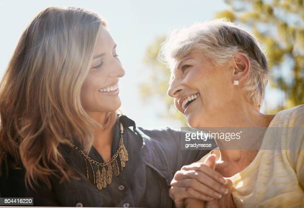 you're still my golden girl - mother daughter stock photos and pictures