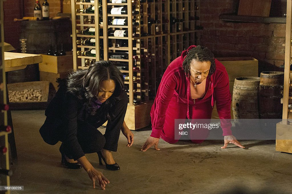 DECEPTION -- 'You're the Bad Guy' Episode 110 -- Pictured: (l-r) Meagan Good as Joanna Padget Locasto, S. Epatha Merkerson as Beverly Padget --