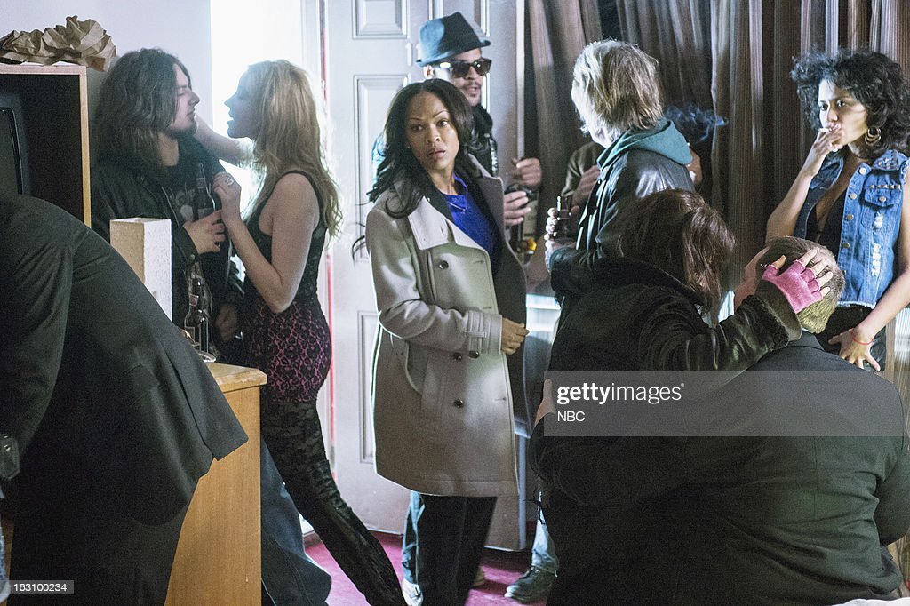 DECEPTION -- 'You're the Bad Guy' Episode 110 -- Pictured: (center) Meagan Good as Joanna Padget Locasto --