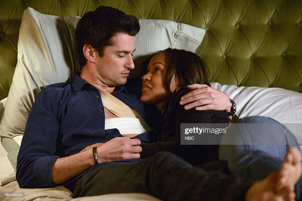 DECEPTION -- 'You're the Bad Guy' Episode 110 -- Pictured: (l-r) Wes Brown as Julian Bowers, Meagan Good as Joanna Padget Locasto --