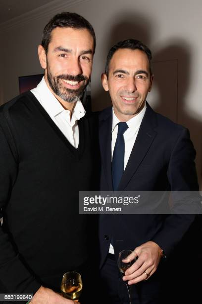 Youri Djorkaeff and Robert Pires attend as LOUIS XIII and Dylan Jones GQ Editor in Chief cohost Intimate Dinner Celebrating the brand's '100 Years'...