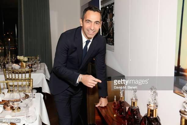Youri Djorkaeff attends as LOUIS XIII and Dylan Jones GQ Editor in Chief cohost Intimate Dinner Celebrating the brand's '100 Years' partnership with...