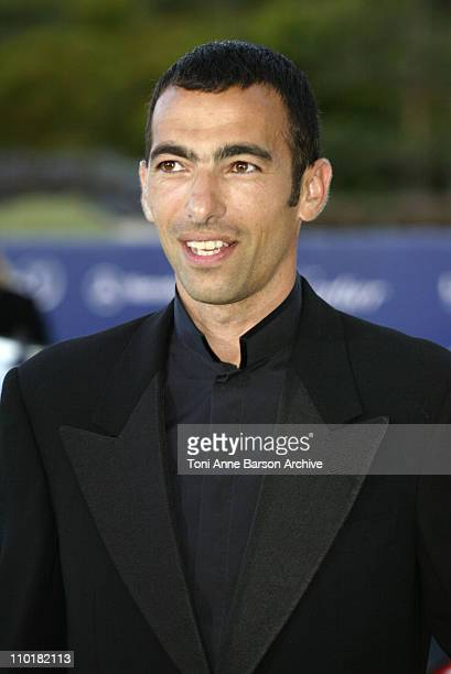 Youri Djorkaeff during 2003 Laureus World Sports Awards Arrivals at Grimaldi Forum in Monte Carlo Monaco