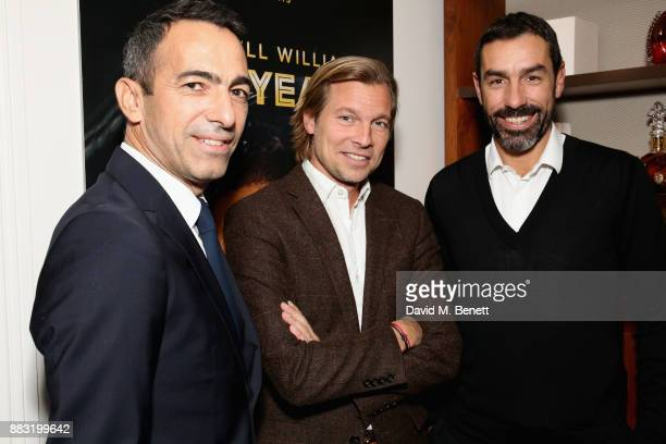 Youri Djorkaeff Ludovic du Plessis and Robert Pires attend as LOUIS XIII and Dylan Jones GQ Editor in Chief cohost Intimate Dinner Celebrating the...