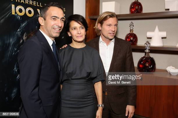 Youri Djorkaeff Sophie Djorkaeff and Ludovic du Plessis attend as LOUIS XIII and Dylan Jones GQ Editor in Chief cohost Intimate Dinner Celebrating...