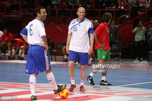 Youri DJORKAEFF / Zinedine ZIDANE France 98 / PSG Finale du Tournoi de Futsal RTL Paris Bercy