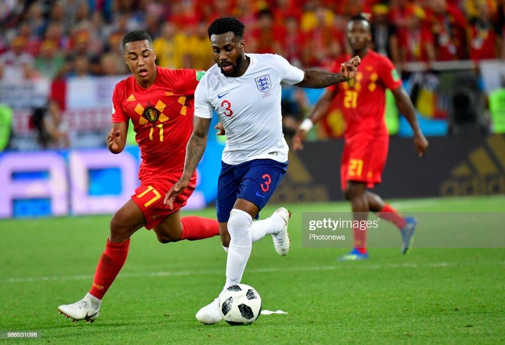 Youri Tielemans Midfielder Of Belgium, Danny Rose Defender