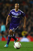 manchester england youri tielemans anderlecht during