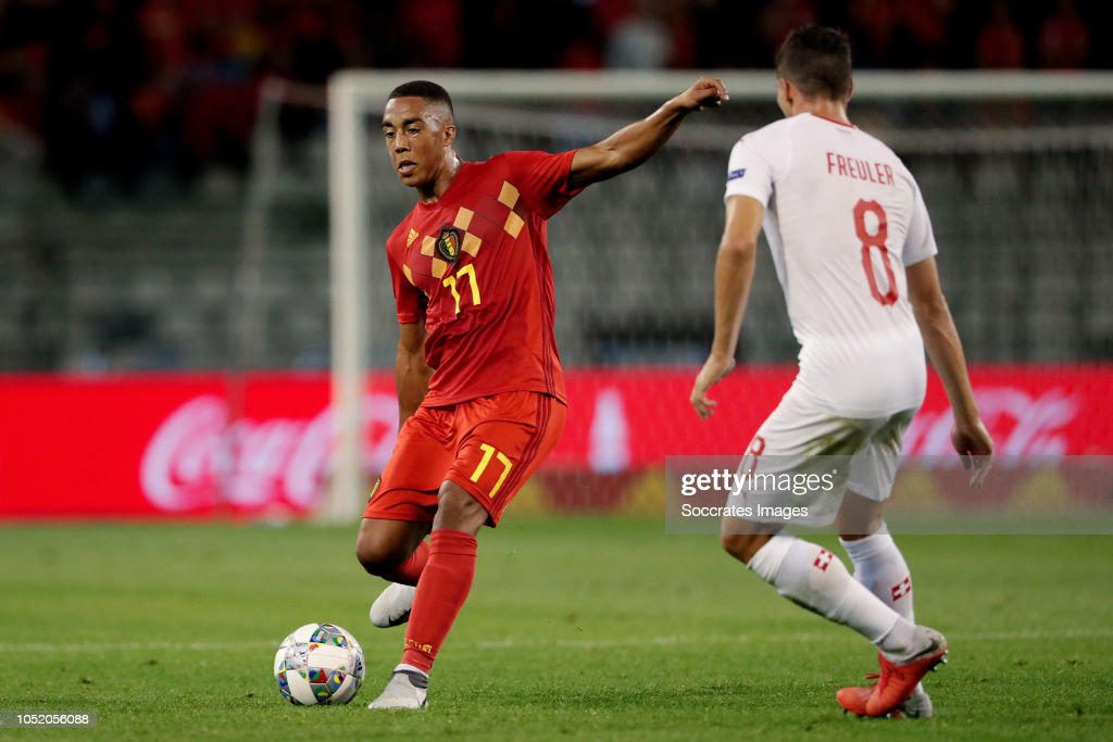 Belgium  v Switzerland  -UEFA Nations league : News Photo