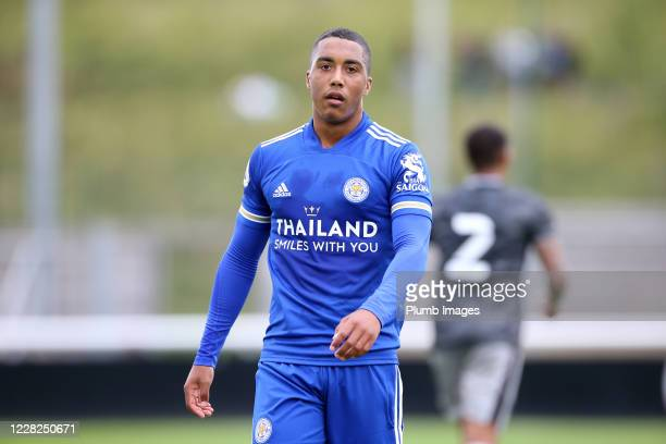 Youri Tielemans of Leicester City during the pre season friendly match between Leicester City and Sheffield Wednesday at Loughborough University...