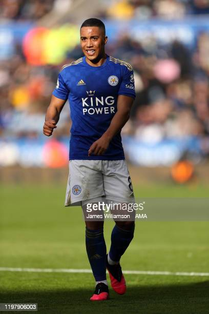 Youri Tielemans of Leicester City during the Premier League match between Leicester City and Chelsea FC at The King Power Stadium on February 1 2020...