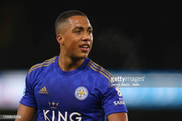 Youri Tielemans of Leicester City during the Premier League match between Wolverhampton Wanderers and Leicester City at Molineux on February 14 2020...