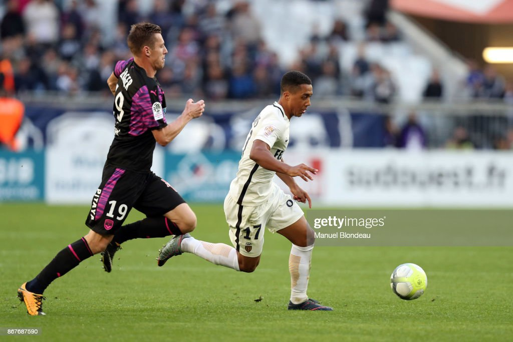 Youri Tielemans Of Monaco During The Ligue 1 Match Between