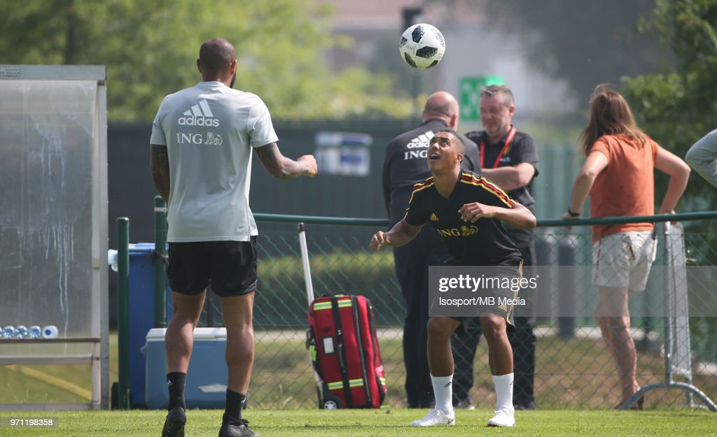 Youri TIELEMANS pictured during a training session of the Belgian national soccer team ' Red Devils ' at the Belgian National Football Center, as part of preparations for the 2018 FIFA World Cup in Russia, on June 4, 2018 in Tubize, Belgium. Photo by Vincent Van Doornick - Isosport