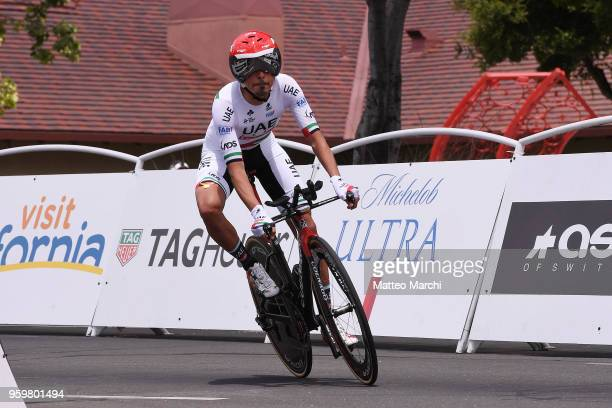 Yousif Mirza AlHammadi of UAE and Team UAE Team Emirates rides during stage four of the 13th Amgen Tour of California 2018 San Jose / Morgan Hill a...