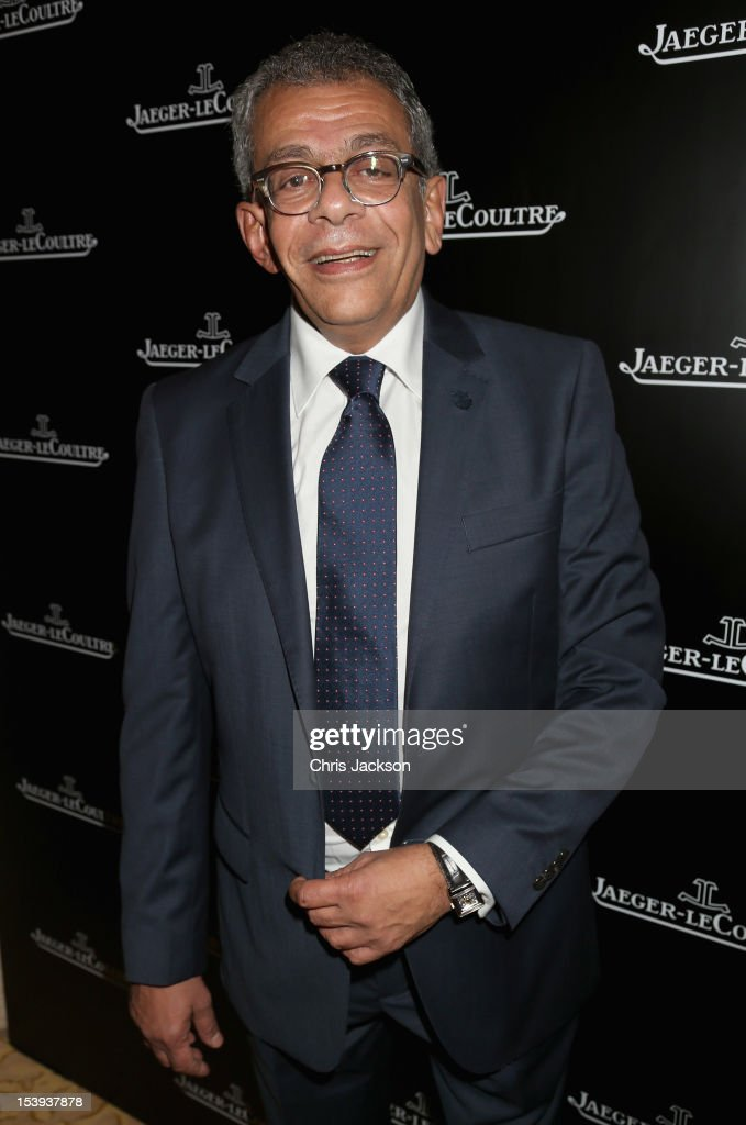 Yousry Nasrallah visits the Jaeger-LeCoultre suite as he attends day one of the Abu Dhabi Film Festival 2012 at Emirates Palace on October 11, 2012 in Abu Dhabi, United Arab Emirates.