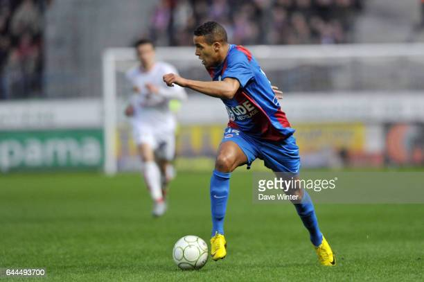 Youssef EL ARABI Caen / Brest Ligue 2 31eme journee Photo Dave Winter / Icon Sport