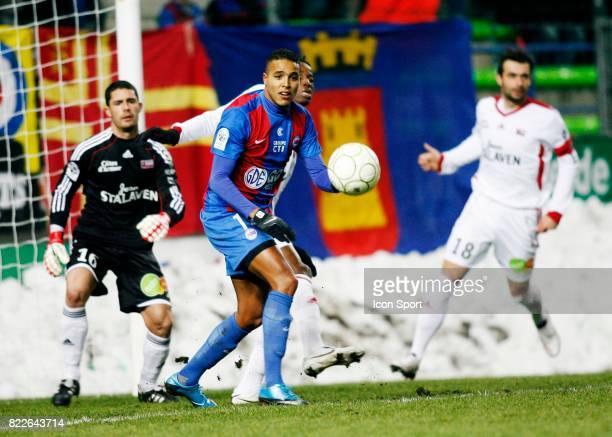Youssef EL ARABI Caen / Guingamp 24eme journee de Ligue 2 Caen