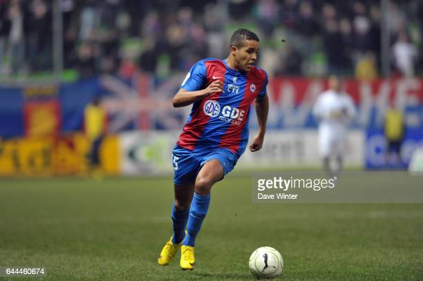 Youssef EL ARABI Caen / Clermont Foot Ligue 2 28eme journee Photo Dave Winter / Icon Sport