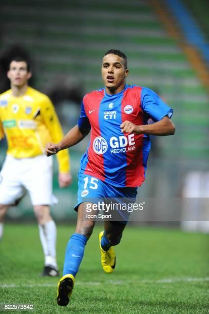 Youssef EL ARABI Caen / Bastia 20eme journee de Ligue2 Stade Michel D'Ornano