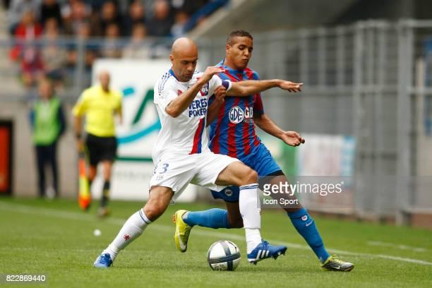 CRIS / Youssef EL ARABI Caen / Lyon 2eme journee de Ligue 1 Stade d Ornano Caen