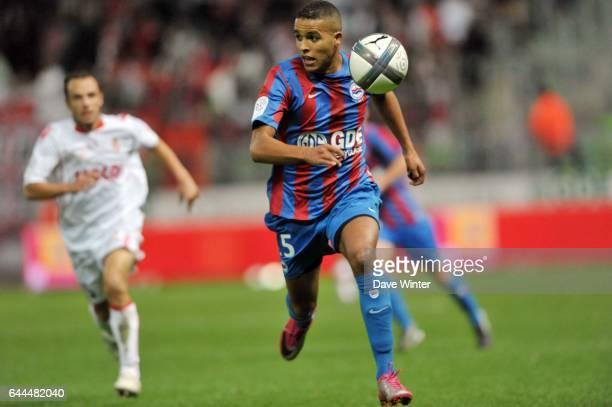 Youssef EL ARABI Caen / Monaco 9eme journee de Ligue 1 Photo Dave Winter / Icon Sport