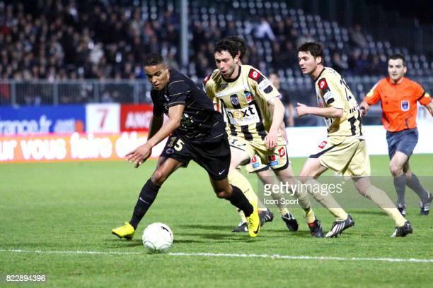 Youssef EL ARABI Angers / Caen 29e journee Ligue 2