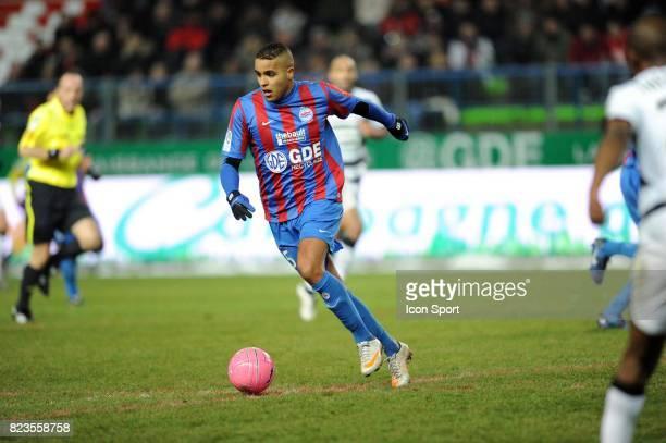 Youssef EL ARABI Caen / Rennes 19eme journee de Ligue 1