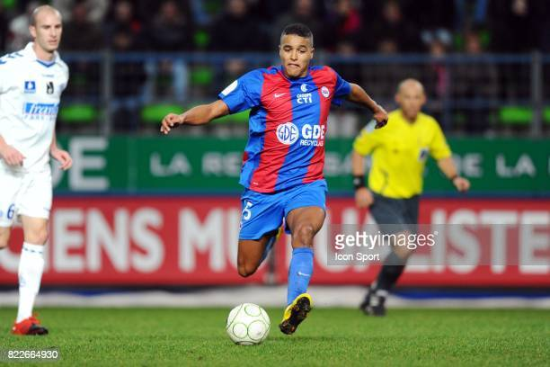 Youssef EL ARABI Caen / Strasbourg 26eme journee de Ligue 2 Stade Michel D'Ornano