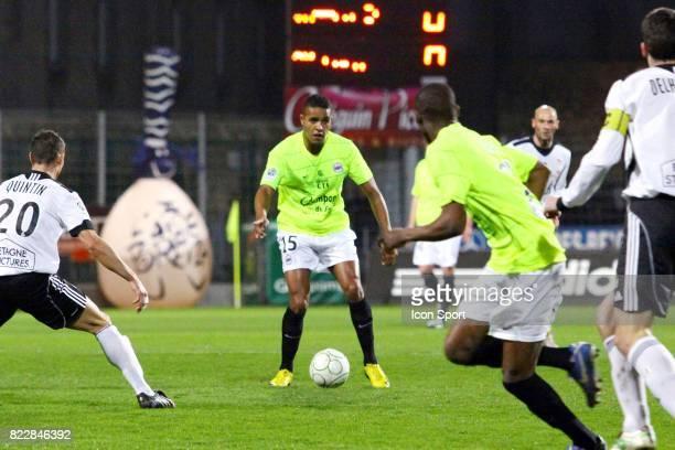Youssef EL ARABI Vannes / Caen 30e journee Ligue 2