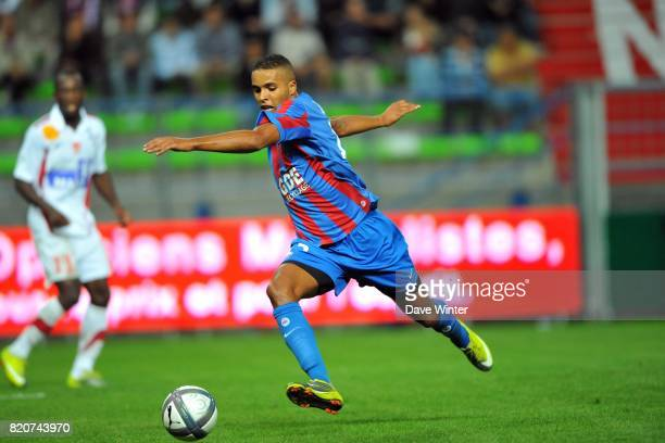 Youssef EL ARABI Caen / Brest 4eme journee de Ligue 1 Stade d Ornano Caen