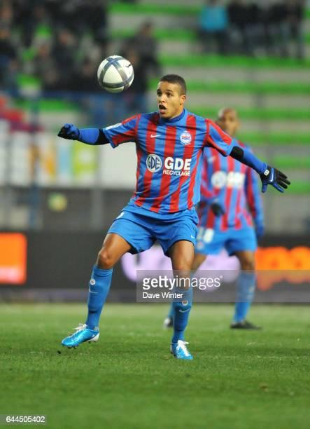 Youssef EL ARABI Caen / Sochaux Ligue 1 15e journee Photo Dave Winter / Icon Sport