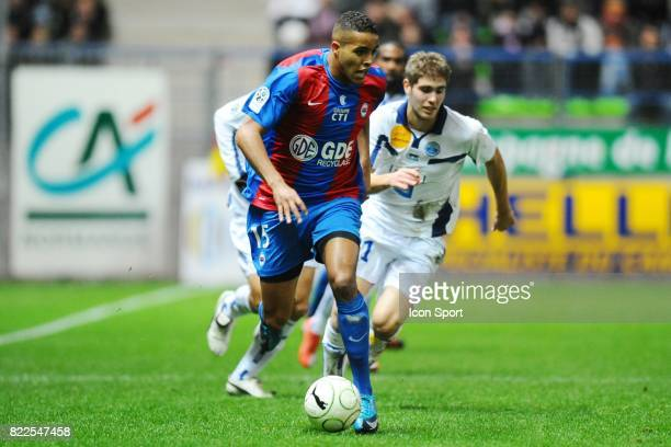 Youssef EL ARABI Caen / Le Havre 16eme journee de Ligue 2 Stade Michel d'Ornano Caen
