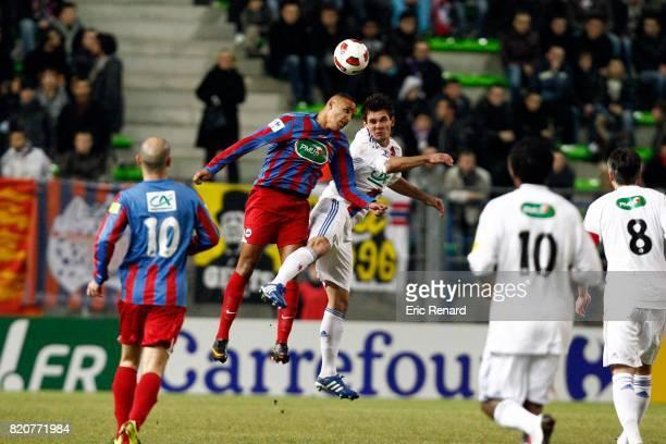 Youssef EL ARABI / Dejan LOVREN Caen / Lyon 32e Finale Coupe de France