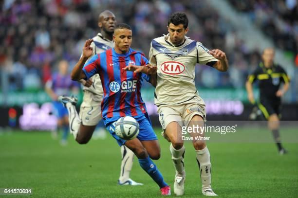 Youssef EL ARABI / FERNANDO Caen / Bordeaux Ligue 1 7e journee Photo Dave Winter / Icon Sport