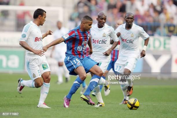 Youssef EL ARABI / HILTON Caen / Marseille 38eme journee de Ligue 1