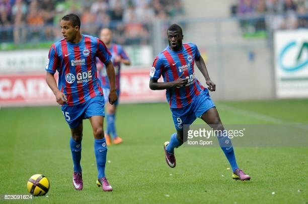 Youssef EL ARABI / M'Baye NIANG Caen / Lens 34e journee Ligue 1