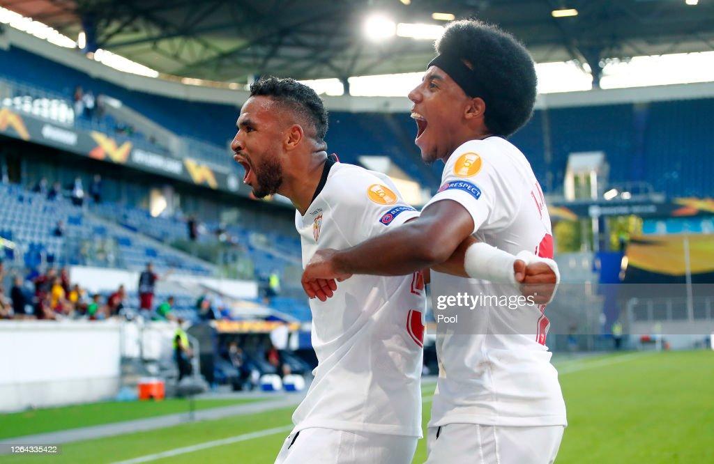Sevilla FC v AS Roma - UEFA Europa League Round of 16 : ニュース写真
