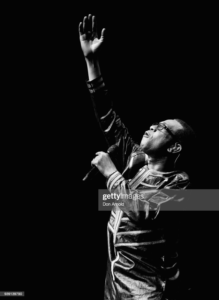 Youssou N'Dour Performs In Sydney