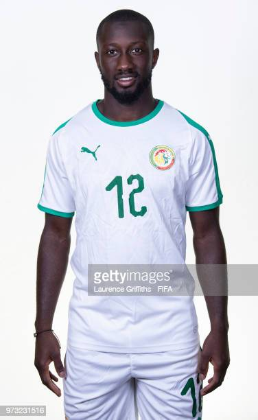 Youssouf Sabaly of Senegal poses for a portrait during the official FIFA World Cup 2018 portrait session at the Team Hotel on June 13 2018 in Kaluga...