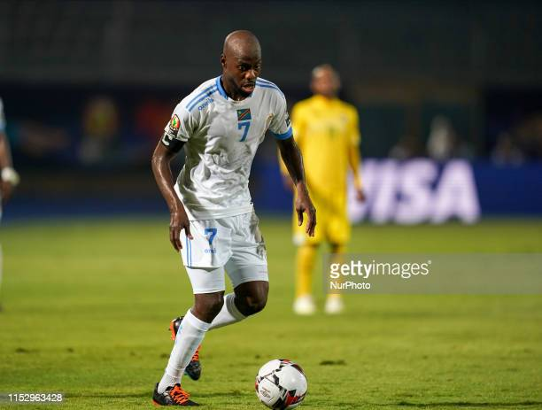 Yousuf Mulumbu of Rd Congo during the 2019 African Cup of Nations match between Zimbabwe and DR Congo at the 30 June Stadium in Cairo, Egypt on June...