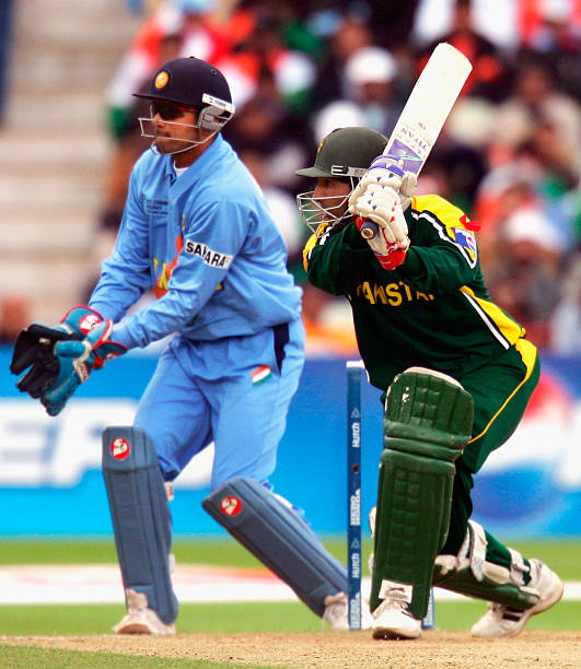 Yousuf Youhana R Of Pakistan In Action During The ICC Champions Trophy Match Between