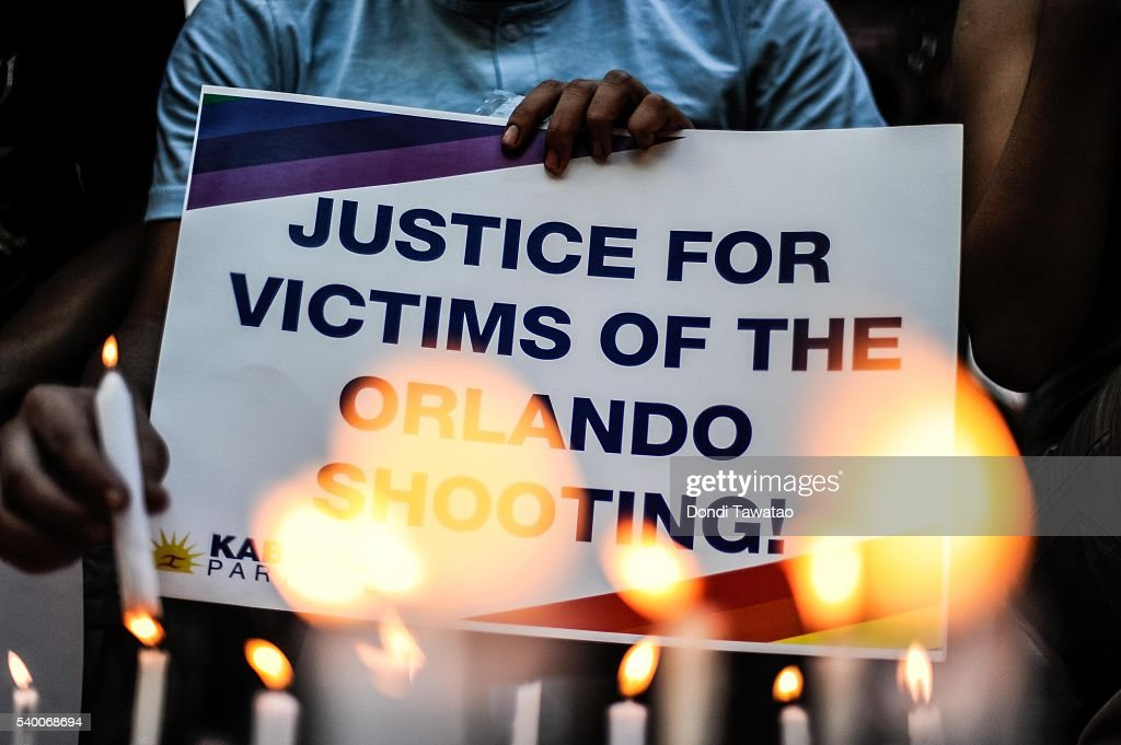 Vigils In Manila After The Orlando Shooting : News Photo