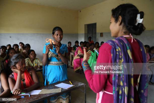 Youth ages 15 to 19 from socially and economically marginalized communities attend a Pathfinder International training about adolescent sexual and...