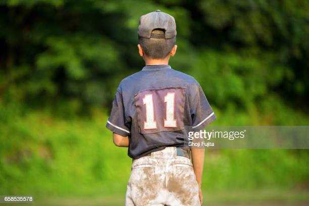 Youth Baseball Player,After game