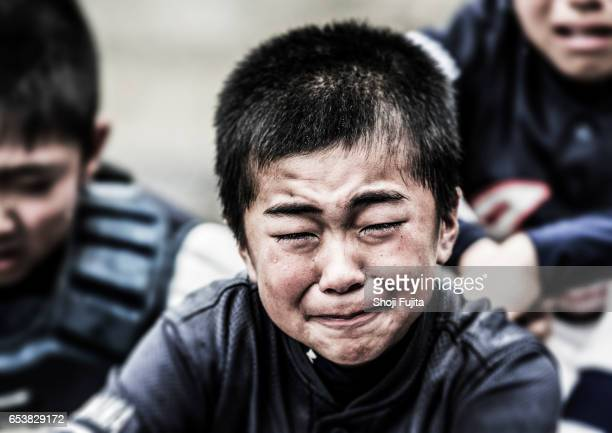 Youth Baseball Players, defeated