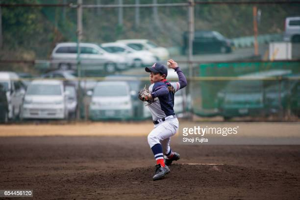 Youth Baseball Players, pitcher