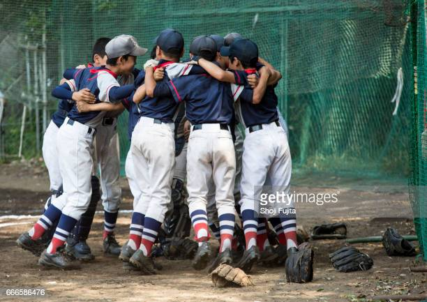 Youth Baseball Players, Teammates